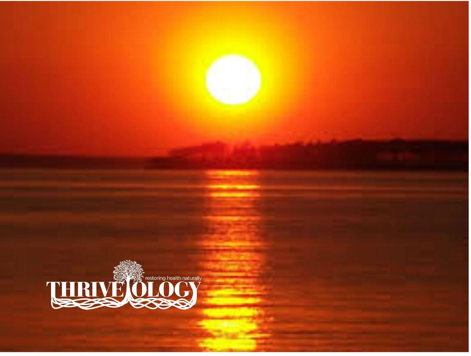 sunscreen, thriveology